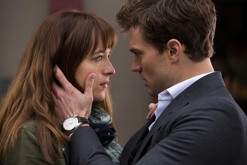 "Dakota Johnson plays Anastasia ""Ana"" Steele, Christian Grey's love interest."
