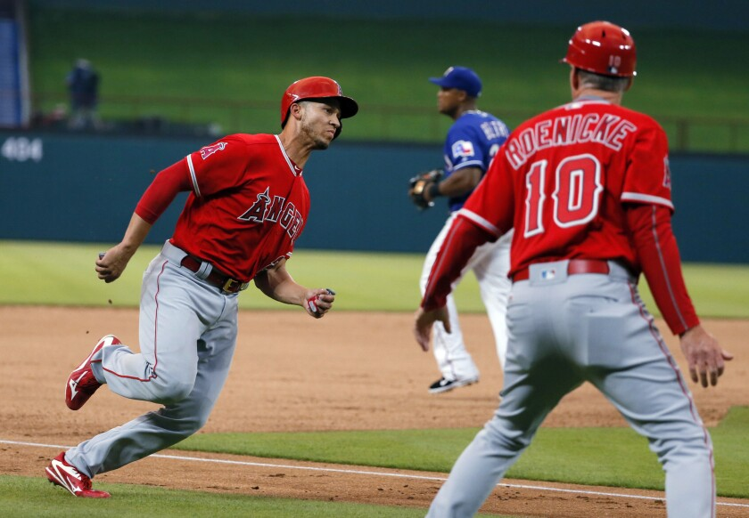 Angels fall to Texas Rangers, 4-2
