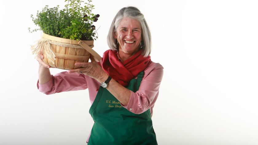 Joni Gabriel is a horticultural therapist and San Diego County Master Gardener