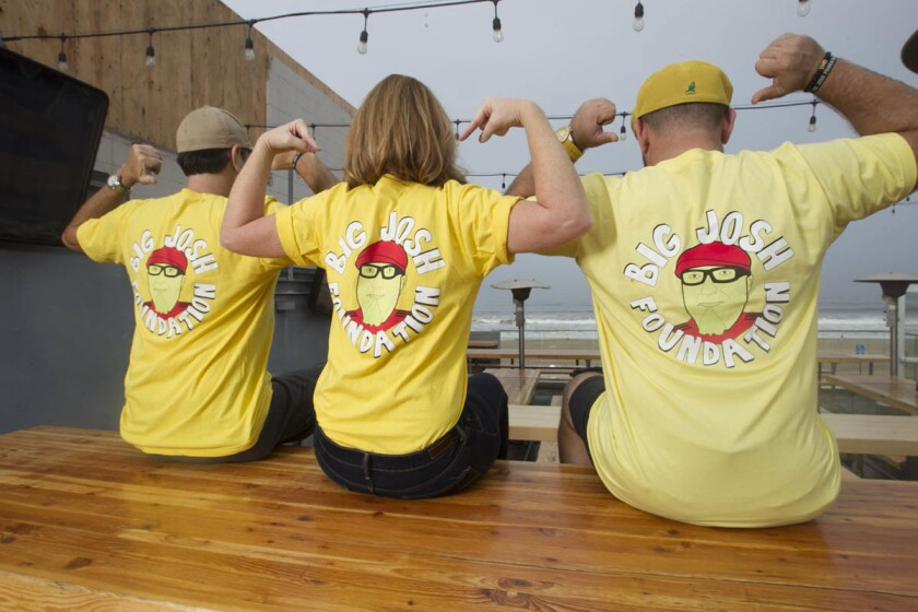 Local bartenders band together to help raise funds for the bartender and service community with the Big Josh Foundation, named after Josh Gehlbach. (John Gibbins/Union-Tribune)