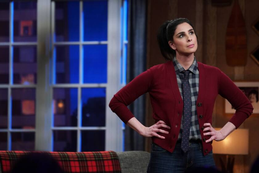 Sarah Silverman in the final episode of her since-canceled Hulu series 'I Love You, America'