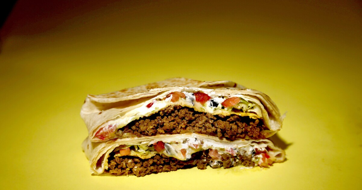 What's for dinner? Try a homemade Taco Bell Crunchwrap Supreme tonight
