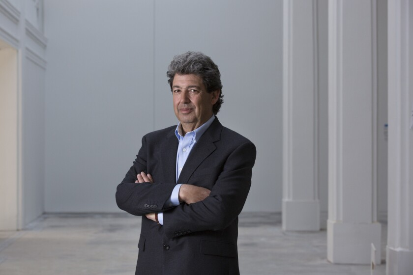 Paul Schimmel, a long-time Los Angeles curator, is now a partner at Hauser Wirth & Schimmel. He is co-curating the gallery's first exhibition of sculpture by women.
