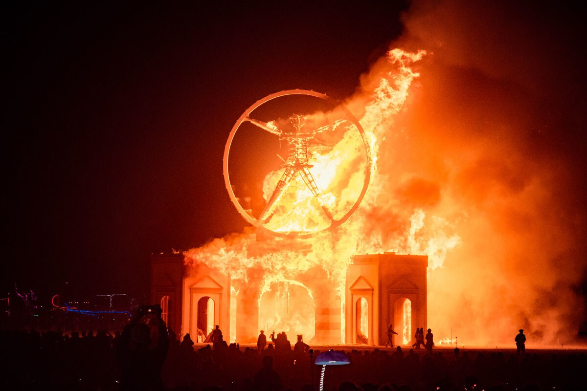 Burning Man. (Andrew Jorgensen)