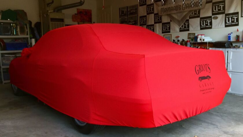 Griot's Garage Form-Fit Car Cover ($358) fits like a tight T-shirt on Brad Pitt.