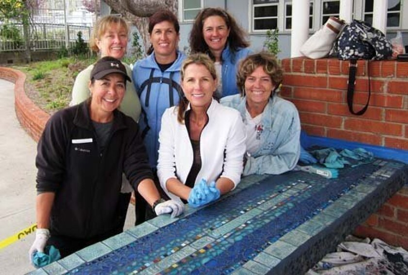 Courtesy-Photo-BRE-bench-helpers-Back-row-L-R-Stacey-Haerr-Margaret-Ohara-Sarah-Feeney-front-row-L-R-Delphine-Ferenczy-Cathy-Riley-and-Jane-Wheeler