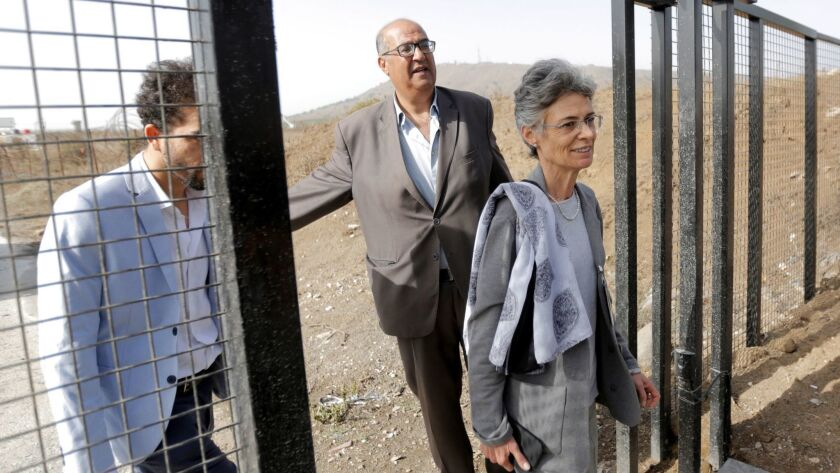 Syria have reached an agreement to reopen the Quneitra crossing in the Golan Heights - 15 Oct 2018