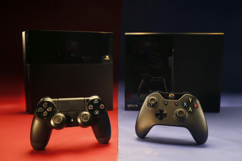 The new PlayStation 4 and Xbox One spur 50% spike in console sales.