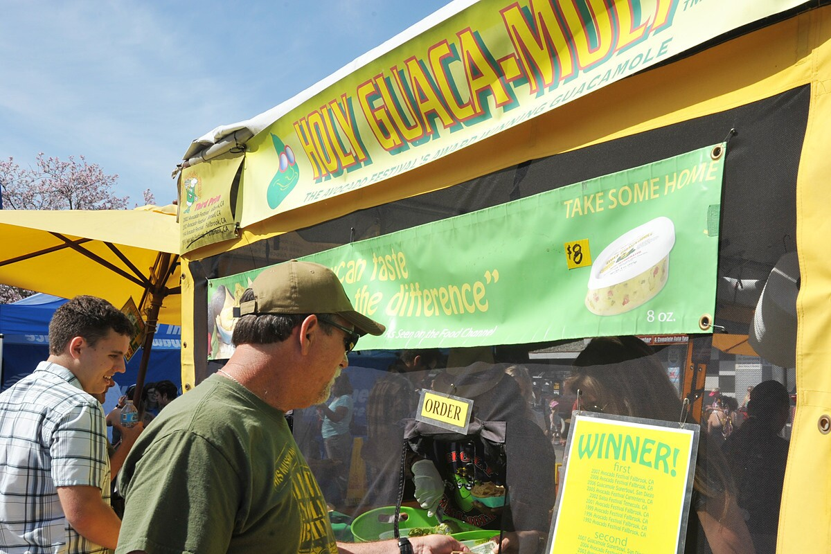 For 31 years Fallbrook has been celebrating the wonderful avocado and despite the heat, crowds came out to enjoy the annual Avocado Festival on Sunday, April 23, 2017. (Rick Nocon)