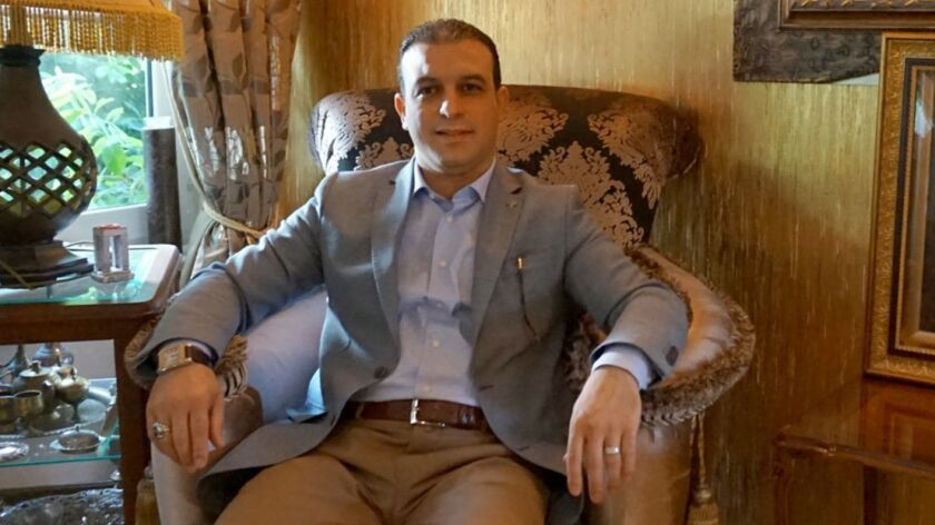 Muhammad Erdogan, a businessman who became a Turkish citizen in 2016 and is running for parliament,