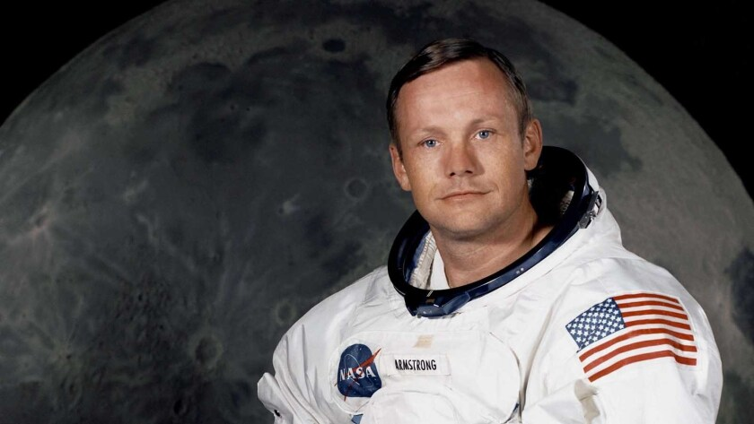 """Neil Armstrong is profiled on """"Nova: First Man on the Moon"""" on PBS."""