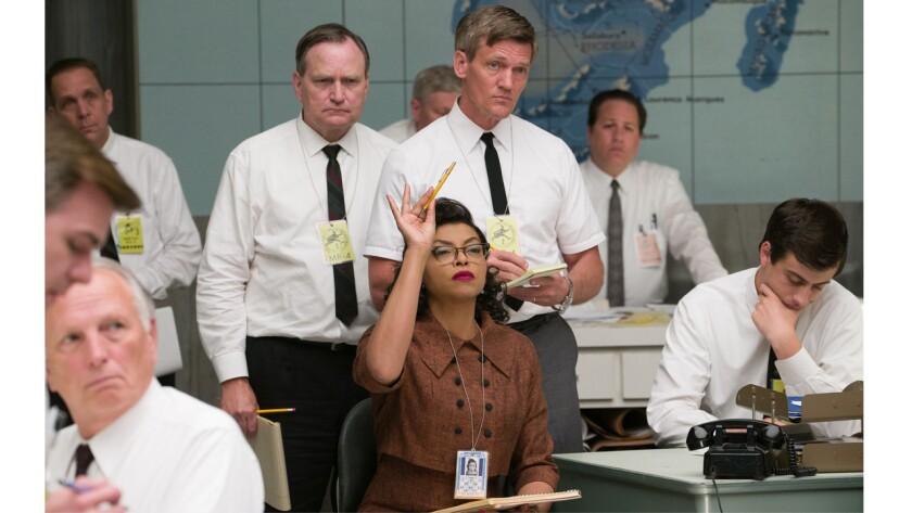 "Physicist and mathematician Katherine Johnson, as portrayed by Taraji P. Henson in the movie ""Hidden Figures."" Johnson was key in the effort to send John Glenn into orbit."