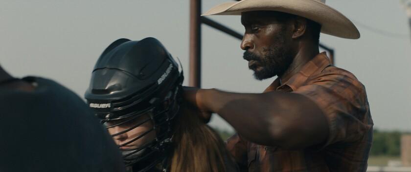Rob Morgan in the movie 'Bull'