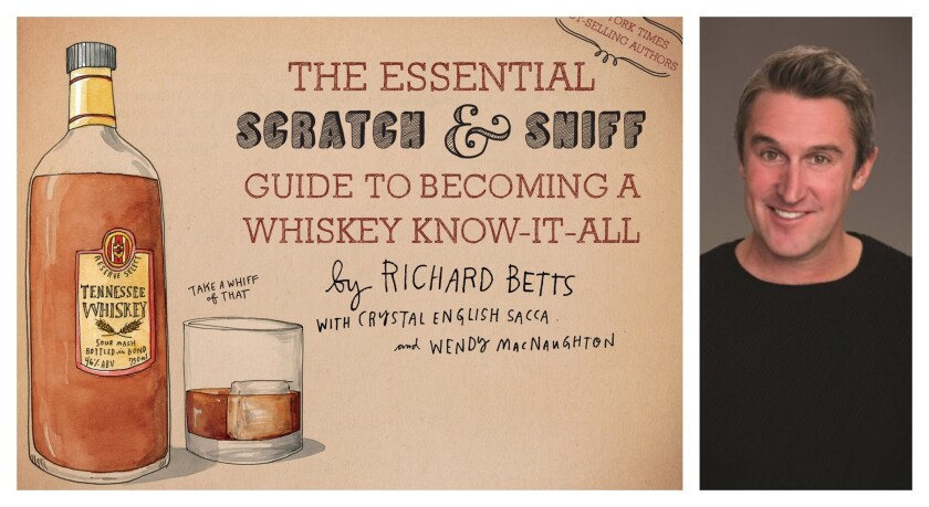 A scratch & sniff book about whiskey?