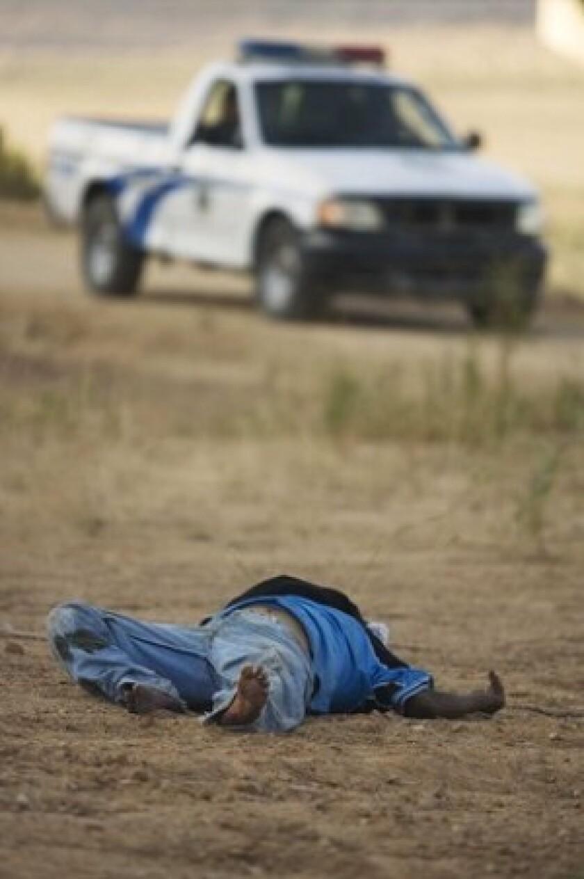 Slaying victim in Tijuana, Mexico