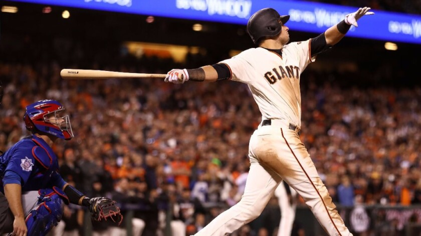 Giants stay alive, beating Cubs in 13 innings for 10th straight elimination win