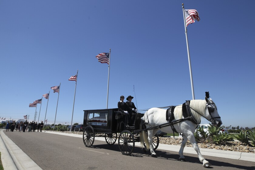 Marine's remains returned from World War II battlefield