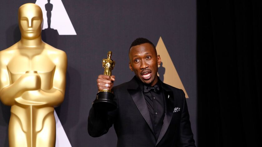 """Mahershala Ali won the supporting actor Oscar for his performance in """"Moonlight."""""""