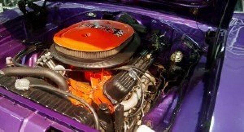 Muscle car horsepower