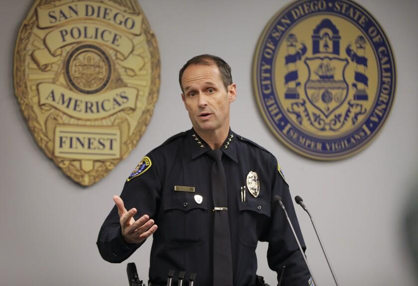 San Diego Police Chief David Nisleit