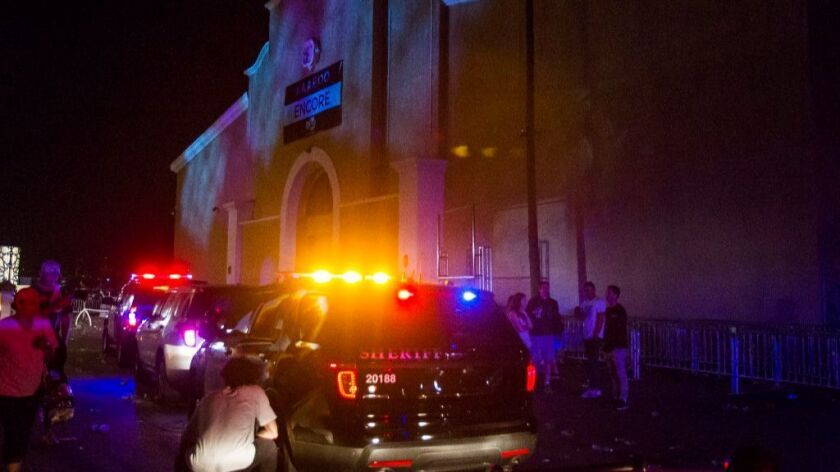 Sheriff's vehicles descended on the Del Mar Fairgrounds after a Del Mar KAABOO crowd tried to force its way into an at-capacity venue.