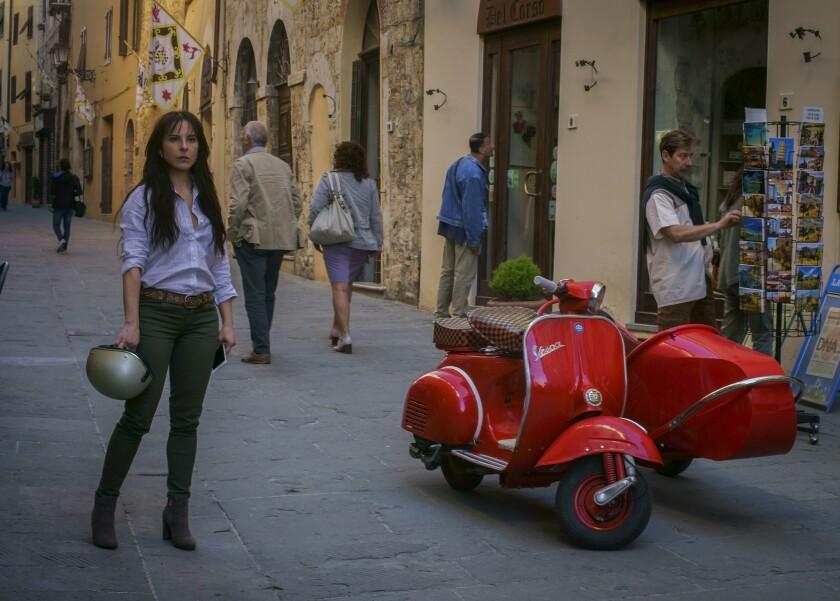 """Kate del Castillo in a scene from """"La Reina del Sur."""" Credit: Telemundo"""