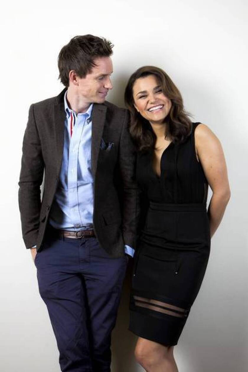 """Actors Samantha Barks and Eddie Redmayne are among the cast """"Les Miserables,"""" opening on Christmas."""
