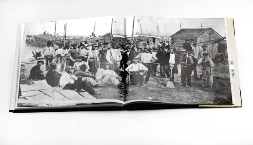 """A page from the book """"Brady's Civil War Journal : Photographing the War 1861-65."""""""