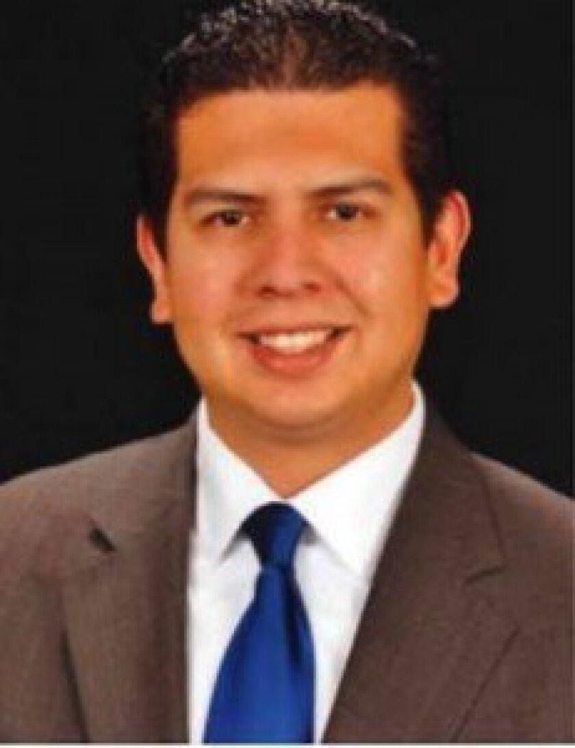 Democratic candidate and city councilmember David Alvarez