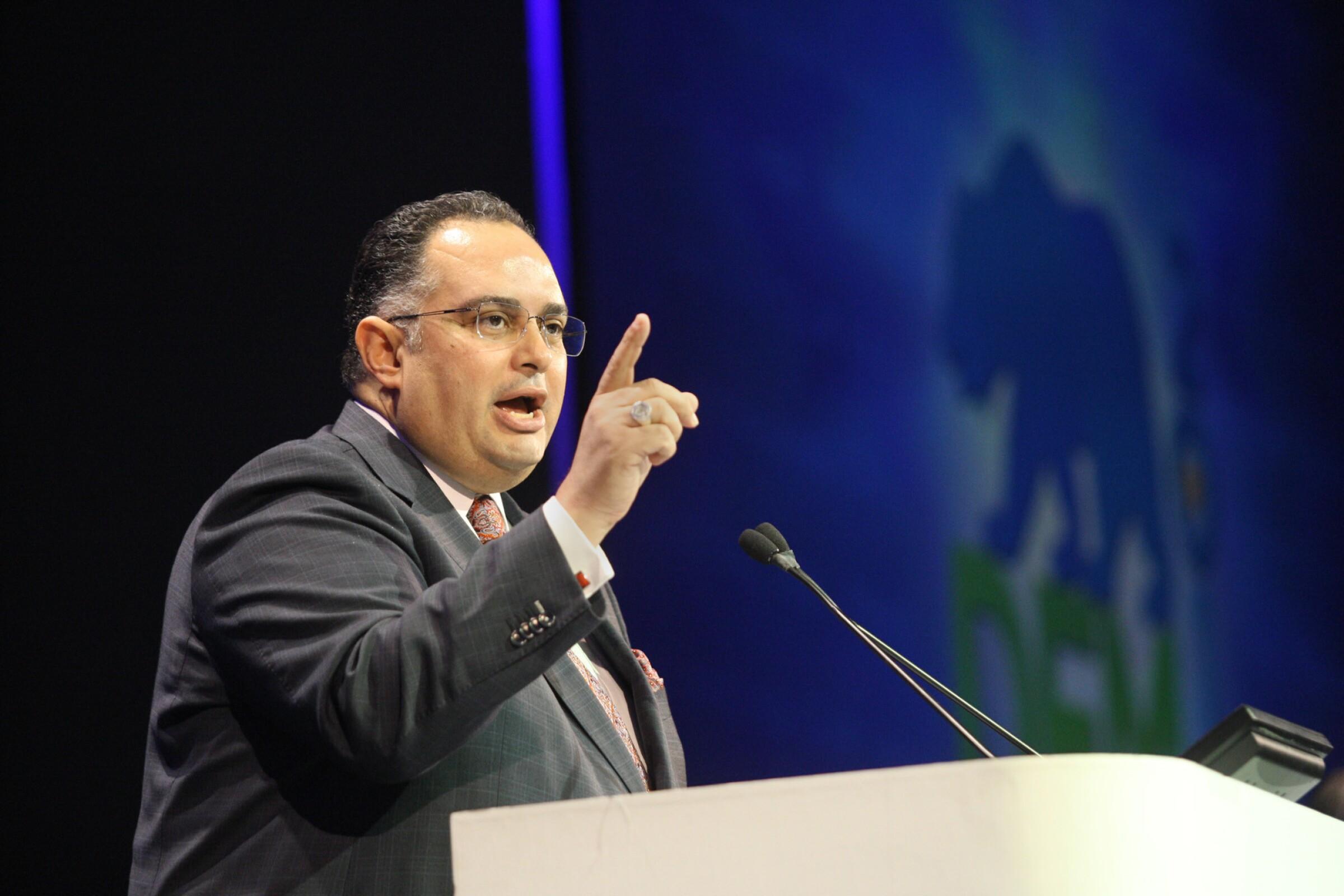 UC Board of Regents Chairman John A. Pérez