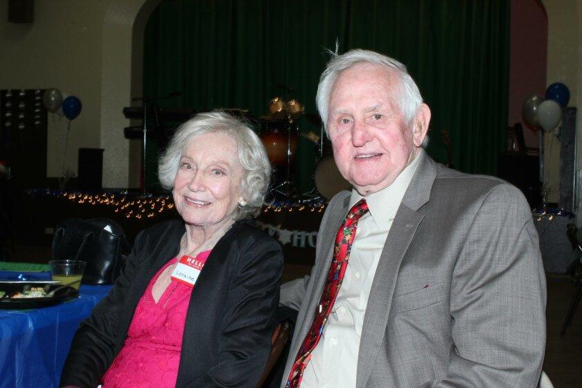 Lauraine Slack and Jim Taylor