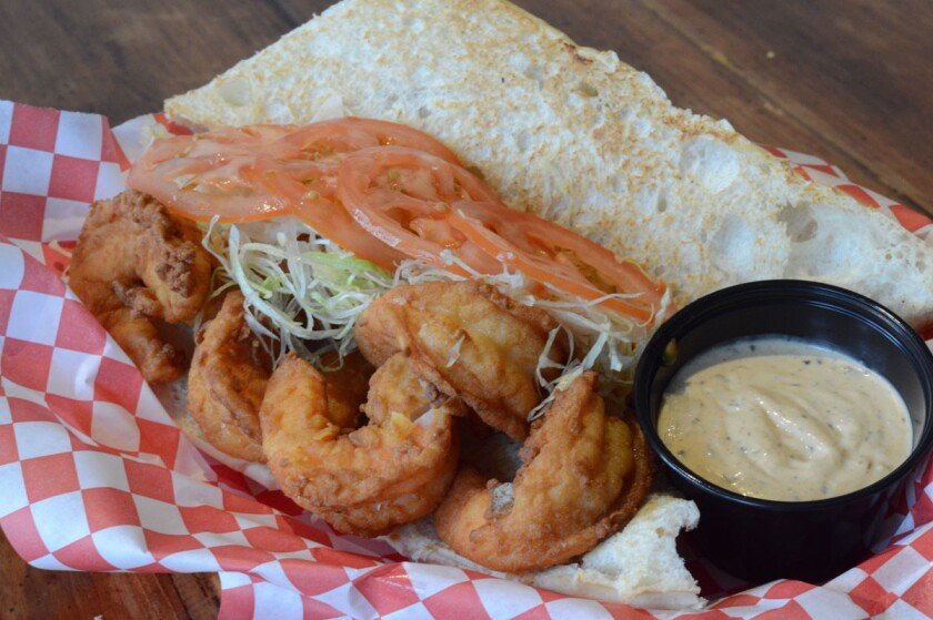 Shrimp PoBoy 1