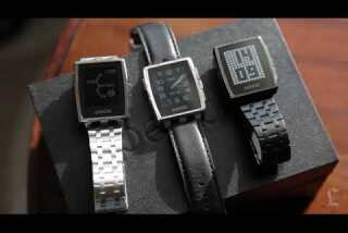 CES 2014: Pebble Steel smartwatch