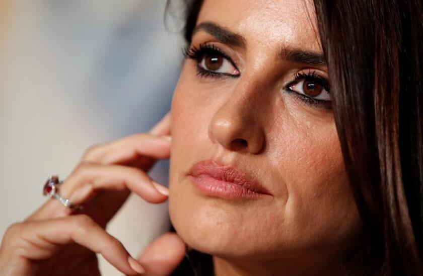 La actriz española Penélope Cruz. EFE/Archivo