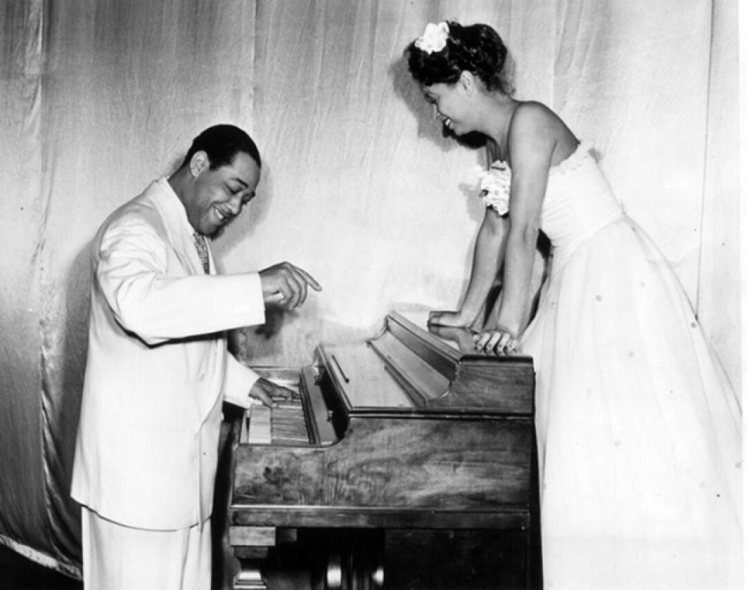 The Dunbar teemed with celebrity guests and performers like Duke Ellington.