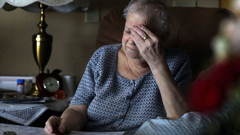 Older adults with a negative outlook about old age were more likely to develop dementia, a new study finds.