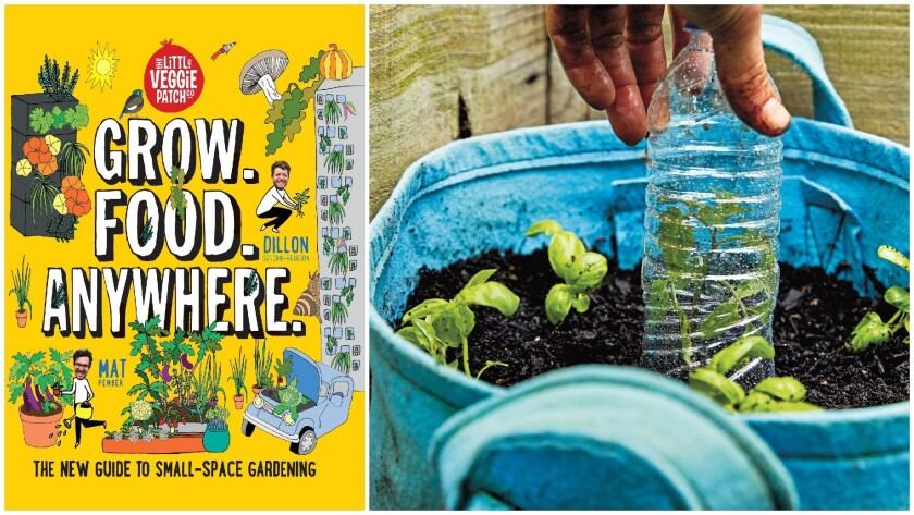 This book shows you how to 'Grow. Food. Anywhere.'