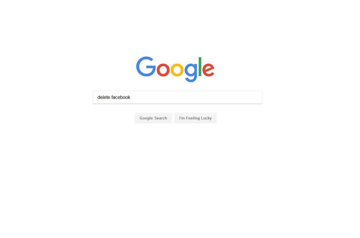 Who Googled 'delete Facebook'? San Diego, San Francisco, San Jose