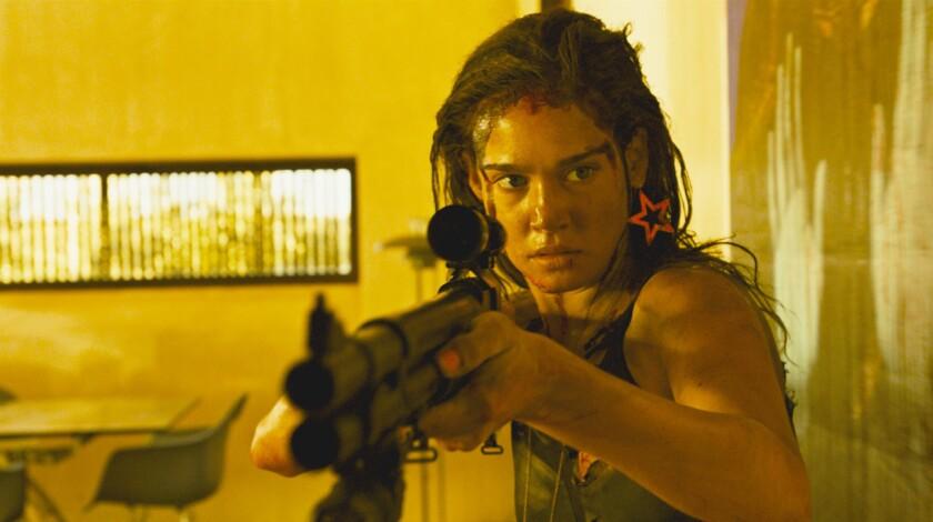 "Matilda Lutz as Jen in ""Revenge"" movie. CREDIT: Shudder/NEON"