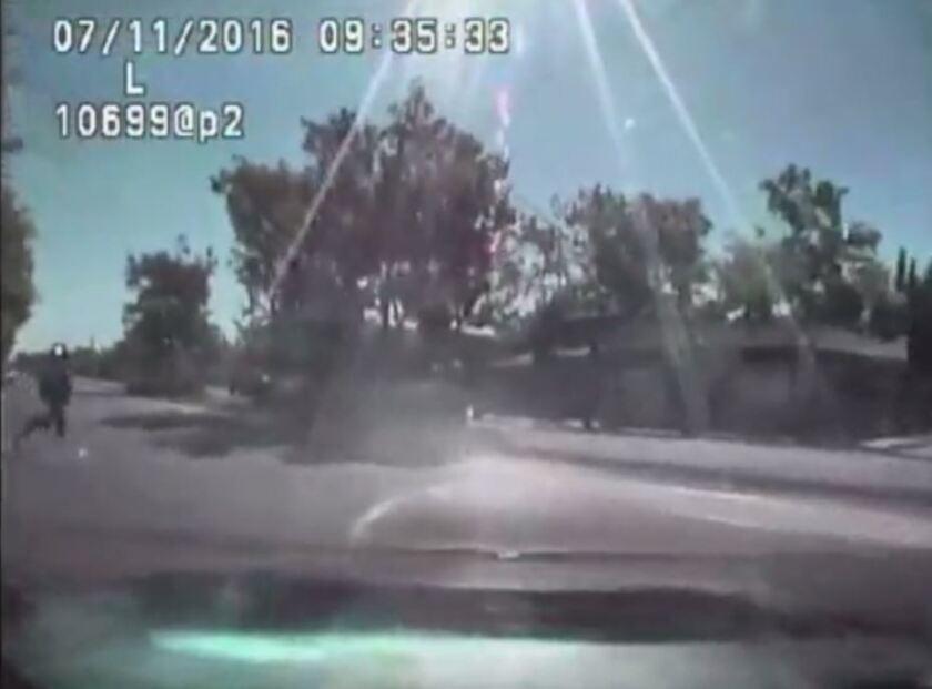 Sacramento PD dash cam video