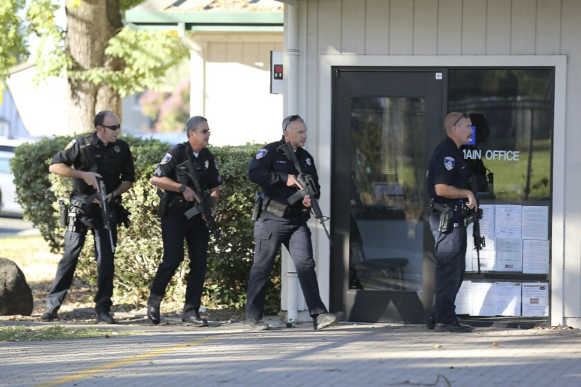 Suspect detained in shooting near Santa Rosa high school that injured 1, police say