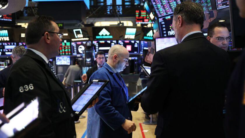 Stocks Slide Sharply On Dow Jones Industrials Average