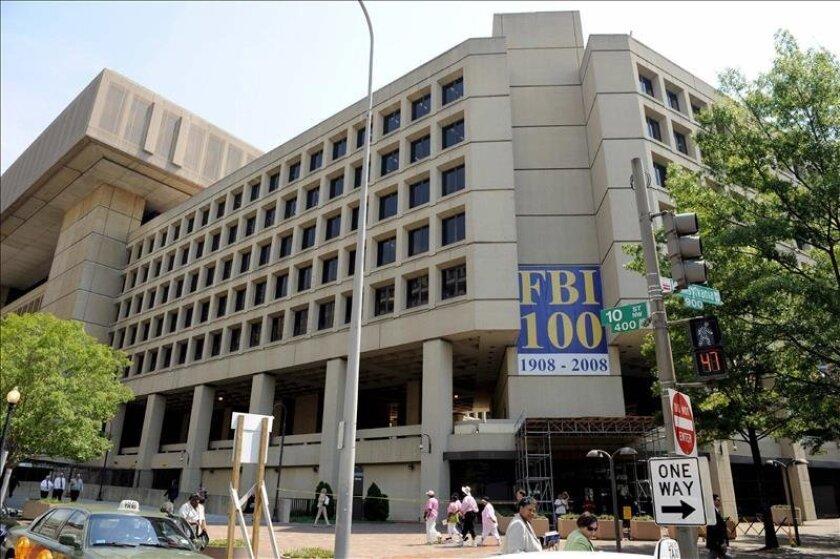 Sede central del FBI en Washington. EFE/Archivo
