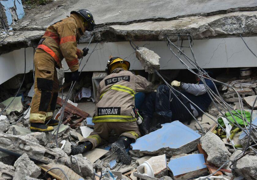 Earthquake in Ecuador
