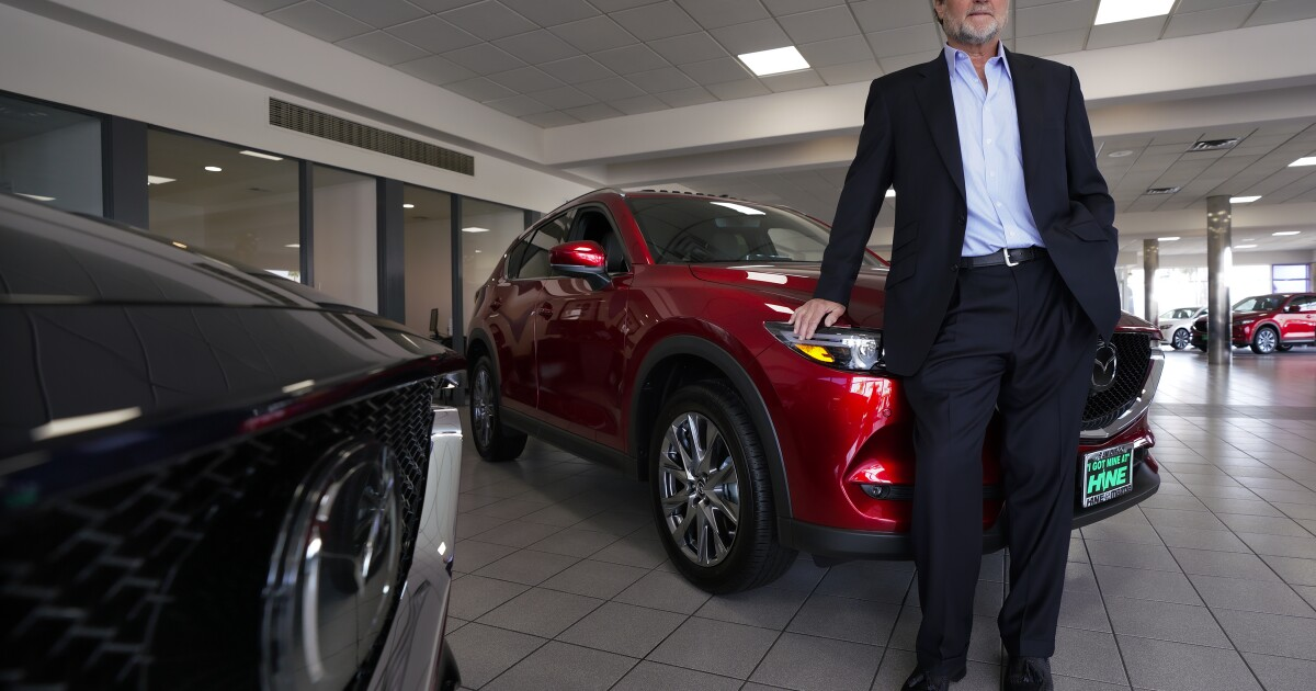 Mission Valley's John Hine Mazda closing its doors after 64 years in San Diego