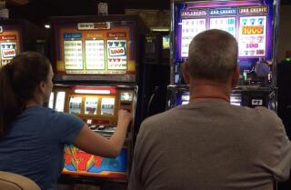 The dying sound of coin payout slot machines