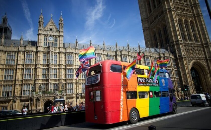 Britain gay marriage vote