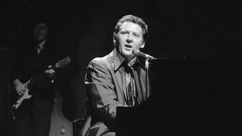 """The Killer,"" Jerry Lee Lewis, circa 1969, happy the Doors are elsewhere."