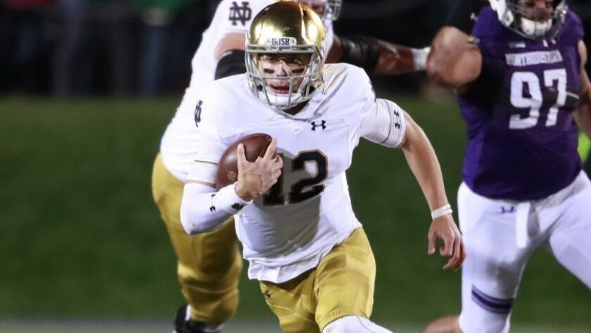 The Times' college football experts make their picks: Notre Dame