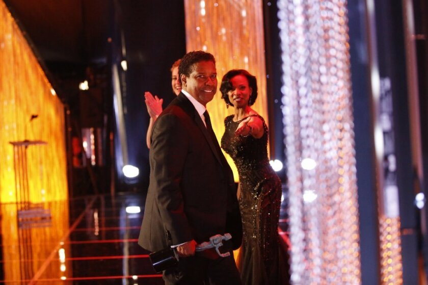 "Denzel Washington takes home a SAG Award for his part in ""Fences."""